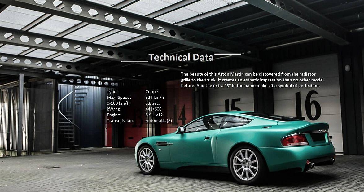 Aston Martin Vanquish Longterm Rental From Months Baron Cars - Aston martin vanquish rental