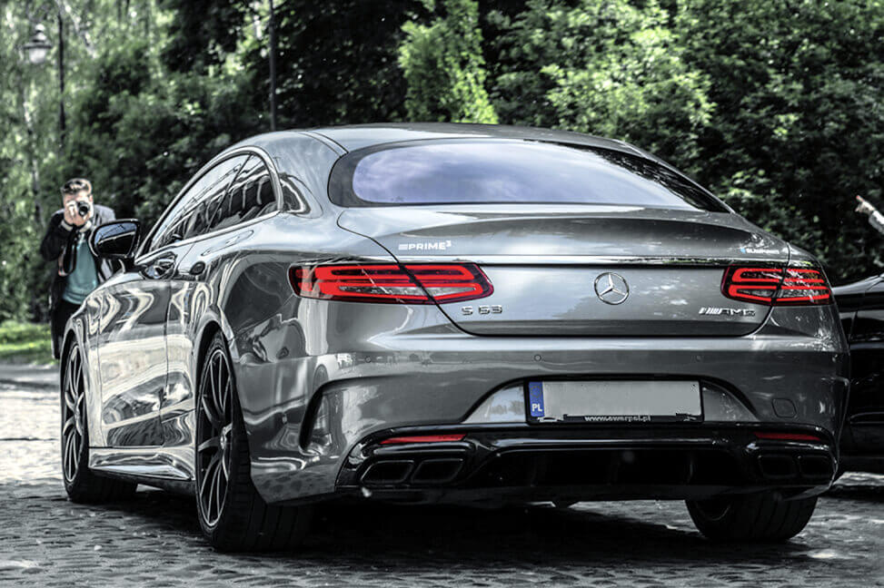 Mercedes-Benz S 63 AMG 4MATIC+ Coupé back