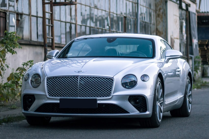 Bentley Continental GT Frontansicht