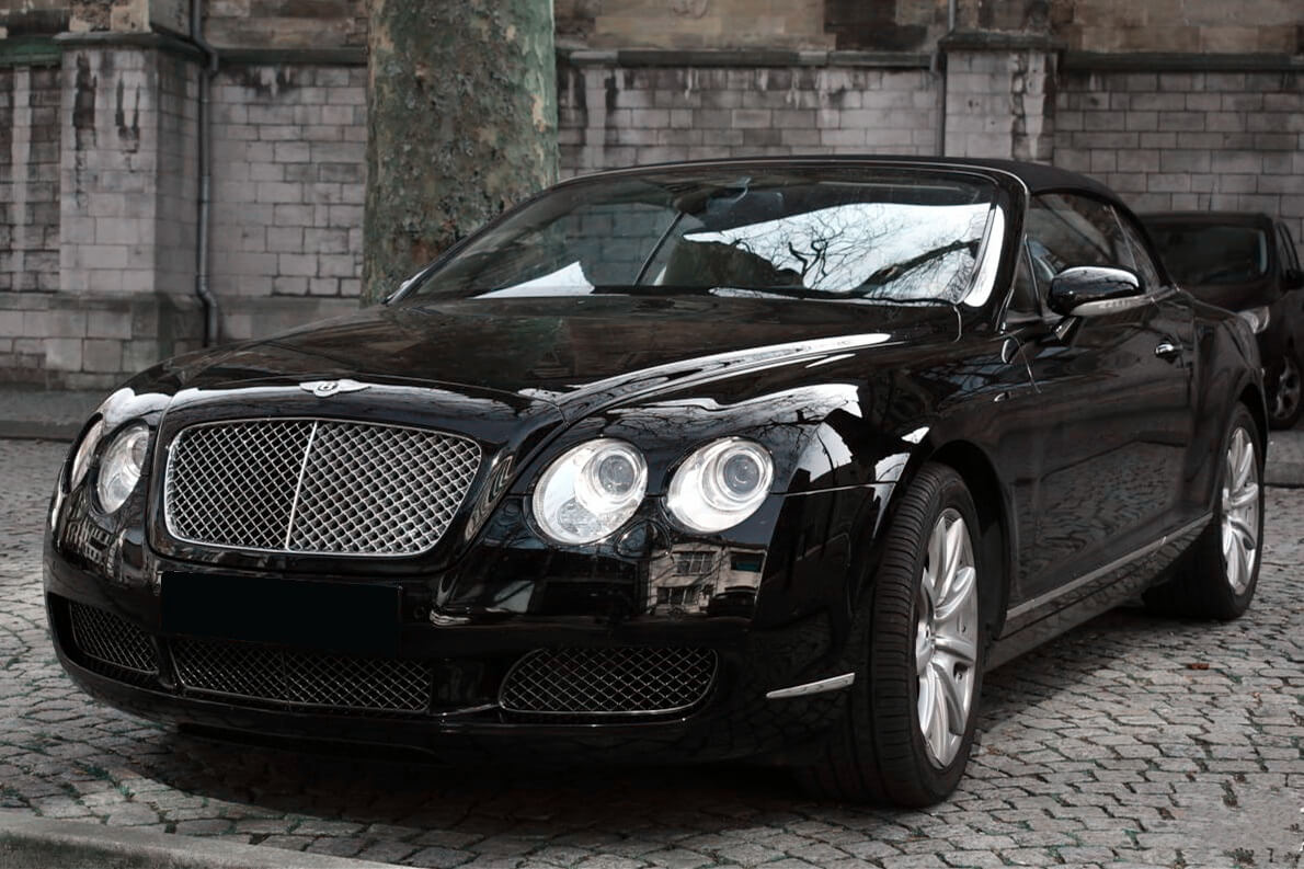 Bentley Continental GTC front